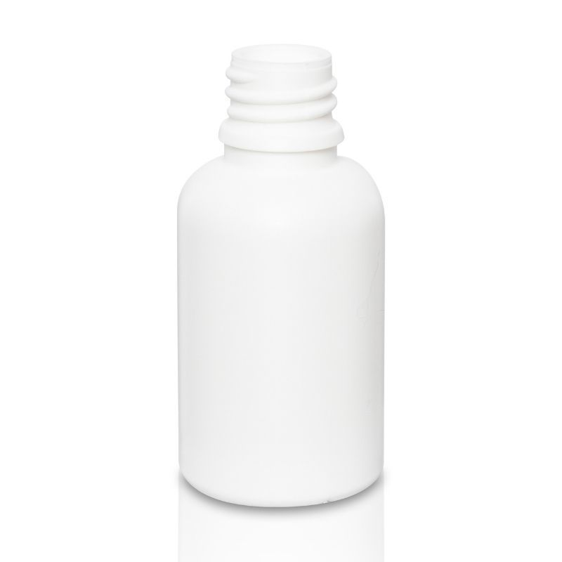 Butelka PE 30 ml biała DIN 18