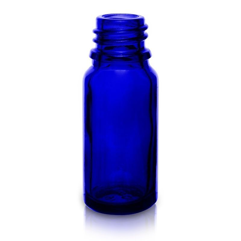 Butelka szklana 10 ml 18/415 niebieska
