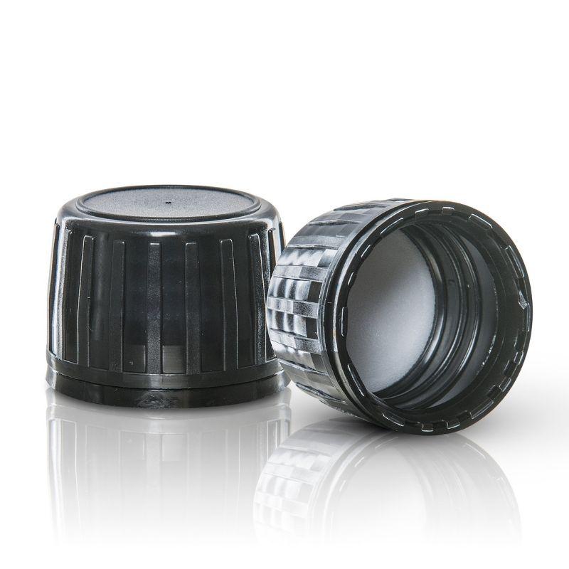 Nakrętka HD-PE czarna 28/410