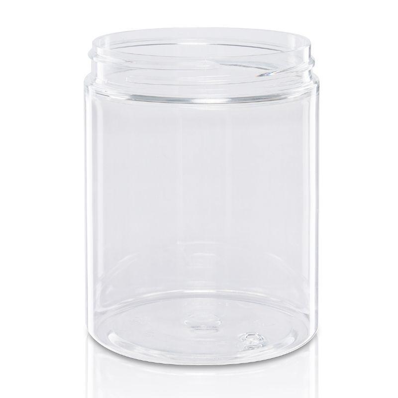 Słoik PET 300 ml bezbarwny 70/400