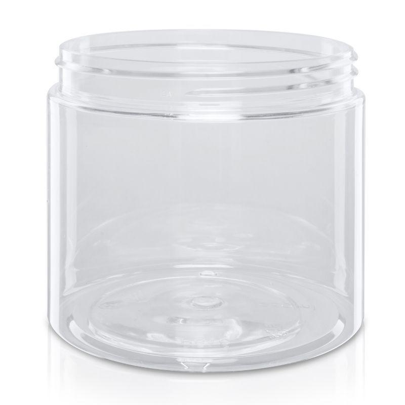 Słoik PET 650 ml bezbarwny 100/400