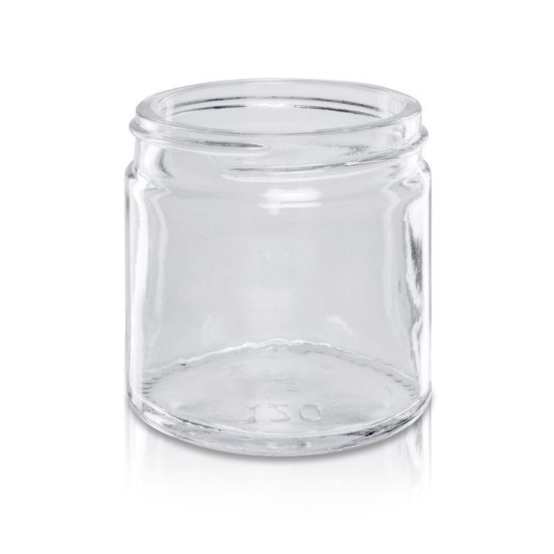 Słoik szklany 120 ml bezbarwny 58/R3