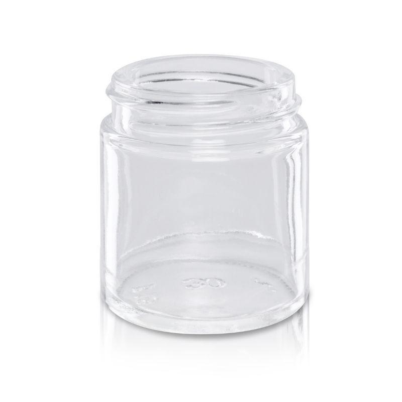 Słoik szklany 30 ml bezbarwny 38/R3