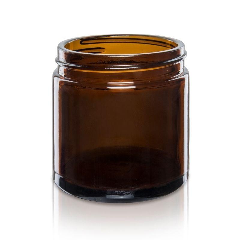 Słoik szklany 120 ml brązowy 58/R3