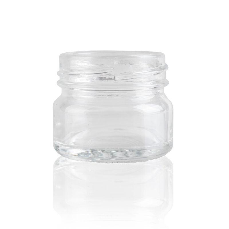 Słoik szklany 30 ml bezbarwny TO43